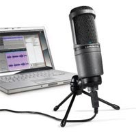 Audio Technica AT2020USB Studio Condenser Microphone