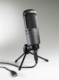 AT2020USB Cardioid Condenser Microphone