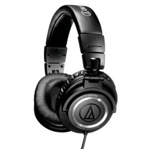 Audio Technica ATHM50s Studio Monitor Headphones