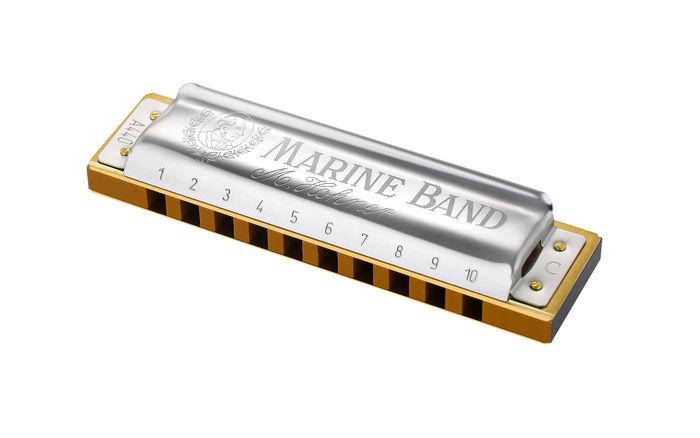 Amazon.com: Hohner Marine Band Harmonica, Key of C: Musical Instruments