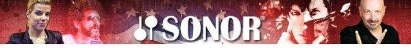 Sonor drums.