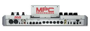 Akai Pro MPC Renaissance Back