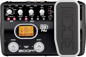 Zoom G2.1Nu Guitar Effects Pedal with USB & Expression Pedal