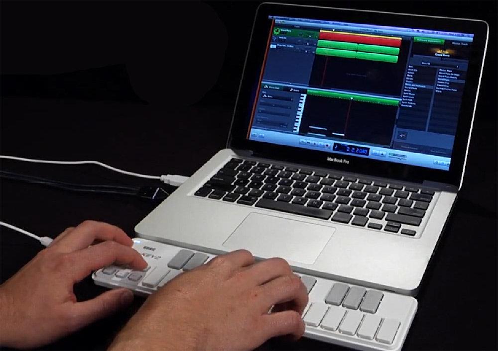 Amazon.com: Korg nanoKEY2 Slim-Line USB Keyboard, Black: Musical