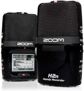 The Zoom H2next Handy Recorder