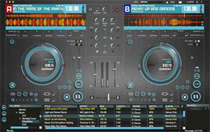 Hercules DJ Control Instinct USB DJ Controller with Audio Outputs.