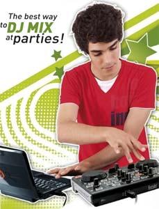 Hercules DJ Control MP3 LE DJ Controller. E24h. vn