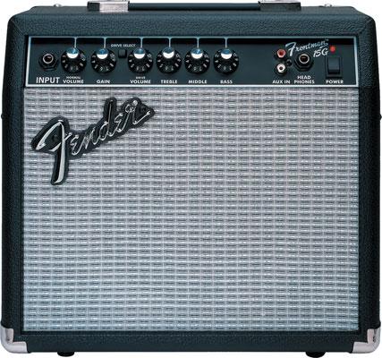 Amazon.com: Fender Frontman 15G Electric Guitar Amplifier