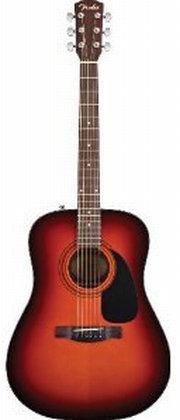Fender CD-60 Dreadnought Acoustic Guitar, Sunburst