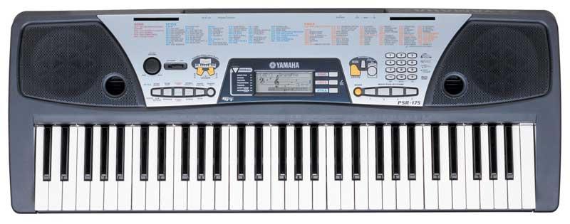 Yamaha psr 175 music keyboard with dj voices yamaha for Yamaha dgx640c digital piano cherry