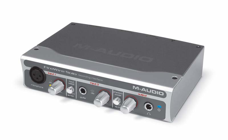Amazon.com: M-Audio Firewire Solo US35030 Firewire Audio Interface ...