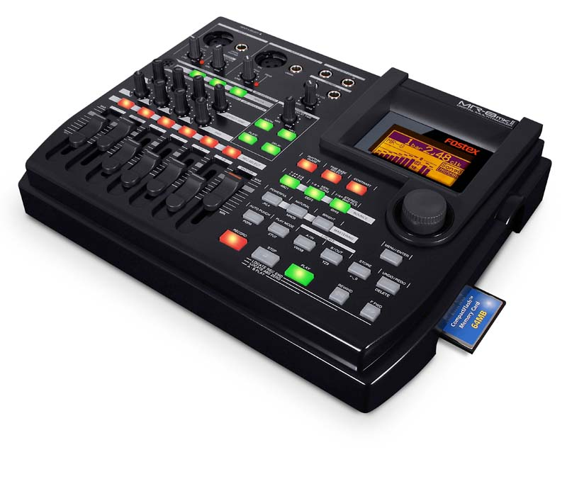 Amazon.com: Fostex MR8 mkII 8 Track Multitrack Recorder: Musical
