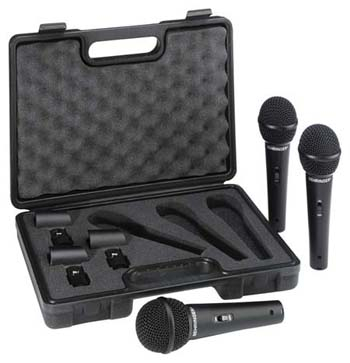 Order best Behringer ULTRAVOICE XM1800S Dynamic Cardioid Vocal Microphones, 3 Pack Under 50 bucks