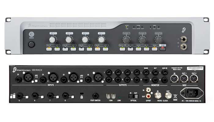 Amazon.com: Digidesign Digi 003 Rack + Factory: Musical Instruments