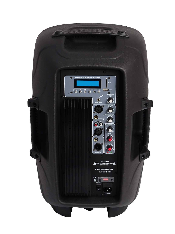 Pyle powered speaker