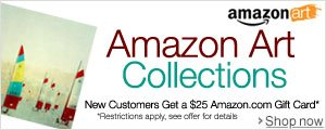 Amazon Art Collections. New Customers Get a $25 Amazon.com Gift Card. Restrictions apply, see offer for details.