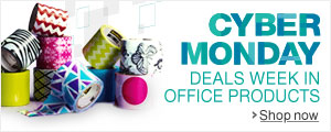 Cyber Monday Week Deals in Office Products