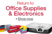 Return to Office Supplies & Electronics