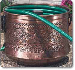 CobraCo Embossed Bronze Hose Holder
