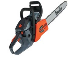 Tanaka 16-Inch Rear-Handle Chain Saw, Oregon Bar and Chain