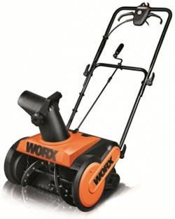 WORX WG650 Electric Snow Thrower Product Shot