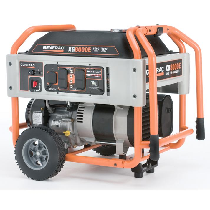 Generac 5847 Xg8000e 8000 Watt Portable Generator Review Power Up