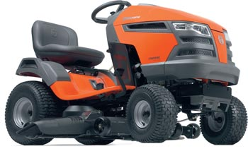 husqvarna tract YTH23V48 hero sm The Husqvarna YTH23V48 riding lawn mowers tractor review
