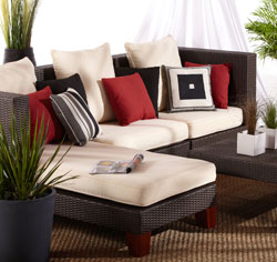 Amazon.com: Strathwood Camano Sectional Furniture Collection ...