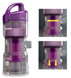 Bagless Upright Vacuum Cleaner