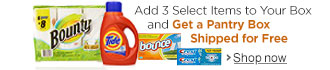 Buy 3 Select Essentials, Get Your Pantry Box Free