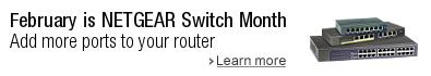 Shop NETGEAR Switch Month