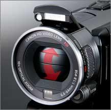 Canon VIXIA HFS100 camcorder highlights