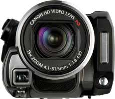 Canon VIXIA HF20 camcorder highlights
