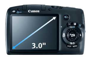 Canon PowerShot SX110 IS digital camera highlights