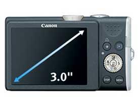 Canon PowerShot digital camera highlights