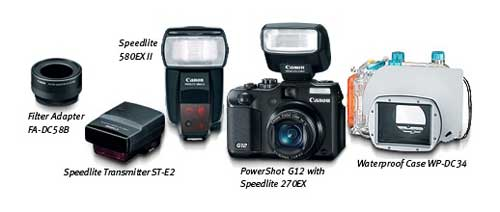 Canon PowerShot highlights from Amazon.com