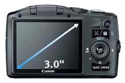 Canon PowerShot SX130IS 12.1 MP Digital Camera Canon PowerShot digital camera highlights
