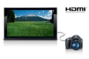 sx30is hdmi Canon SX30IS 14.1MP Digital Camera with 35x Wide Angle Optical Image Stabilized Zoom and 2.7 Inch Wide LCD