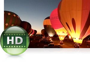 HD (720p) movies with stereo sound