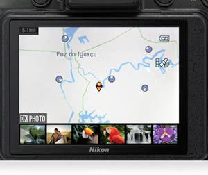 Built-in GPS and geotagging features