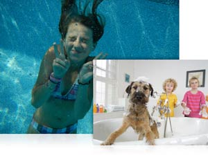 Waterproof, shockproof, kidproof