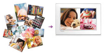 Philips 10FF2CMI/27 Digital Photo Frame