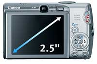 Canon PowerShot SD850 IS highlights