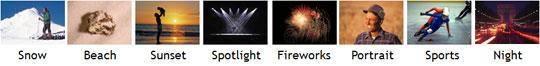 Canon HF100 Highlights