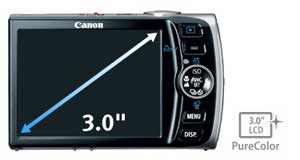 Canon PowerShot SD870IS highlights