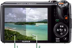 Fujifilm FinePix digital camera highlights