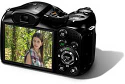 Fuji FinePix digital camera highlights