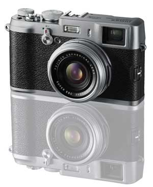 Fujifilm FinePix X100 concept camera highlights