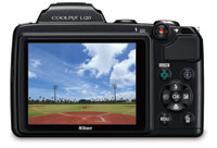 Nikon COOLPIX L120 14.1 MP Digital Camera L120 high resolution display