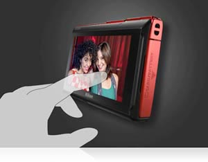 3.5-inch OLED Touch Screen